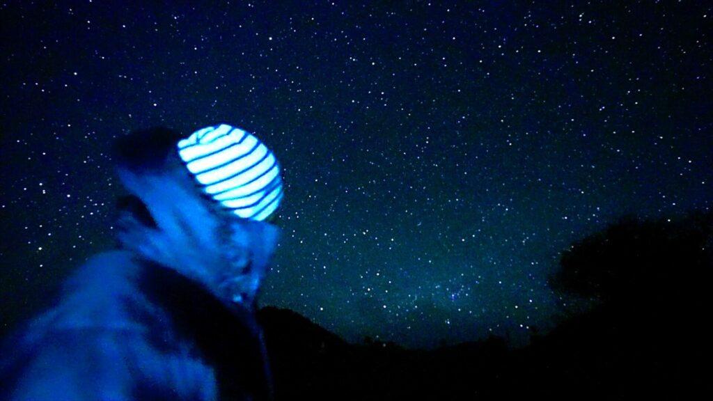 初めての星空動画の撮影。。。